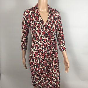 Bost Proper red V-Neck Wrap Dress